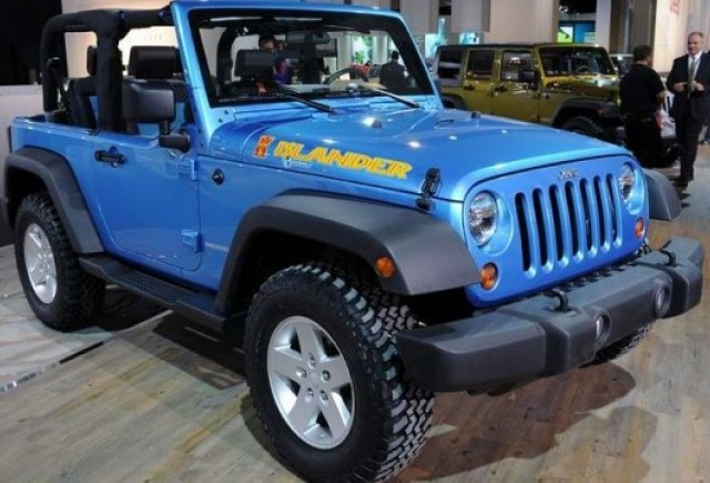 Detroit 2010: Jeep Wrangler Islander & Mountain