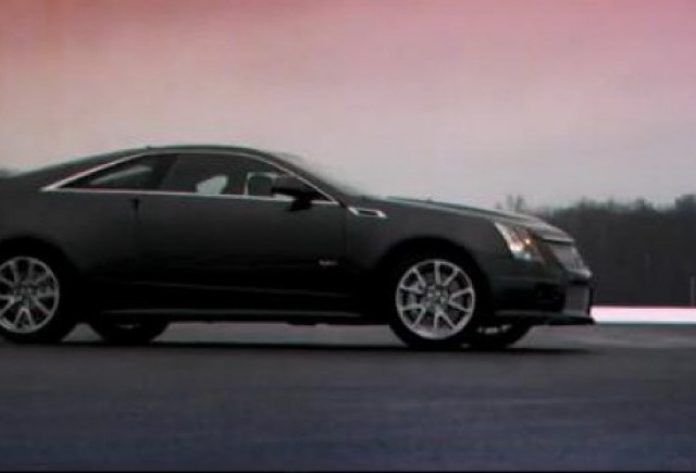 VIDEO: Cadillac CTS-V Coupe