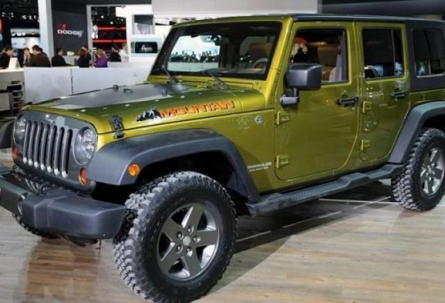 Jeep Wrangler diesel nu exista pentru America!