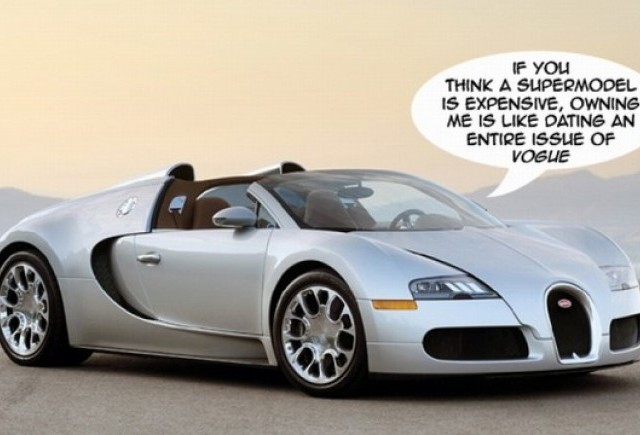 Bugatti Veyoron, tocatorul de bani