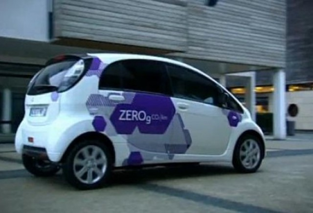 VIDEO: Modelul electric Citroen C-Zero