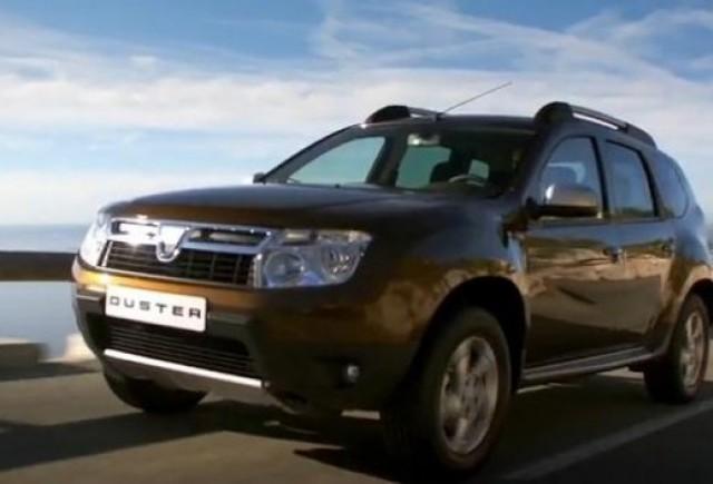 VIDEO: Dacia Duster in actiune