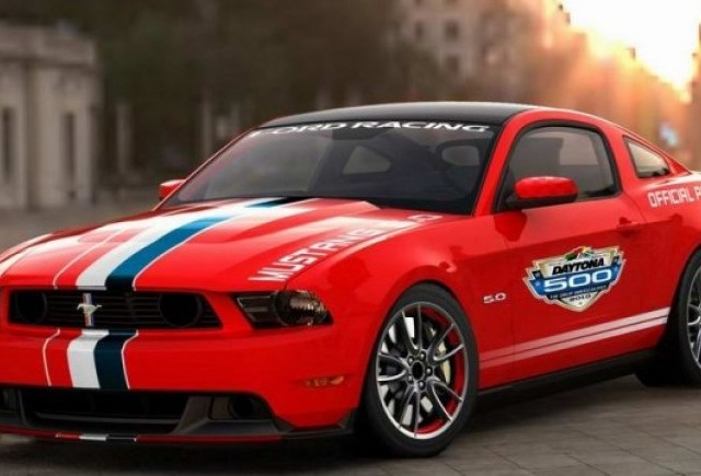Mustang GT Pace Daytona 500