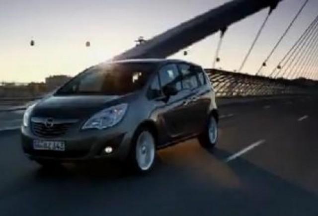 VIDEO: Interiorul noului Opel Meriva