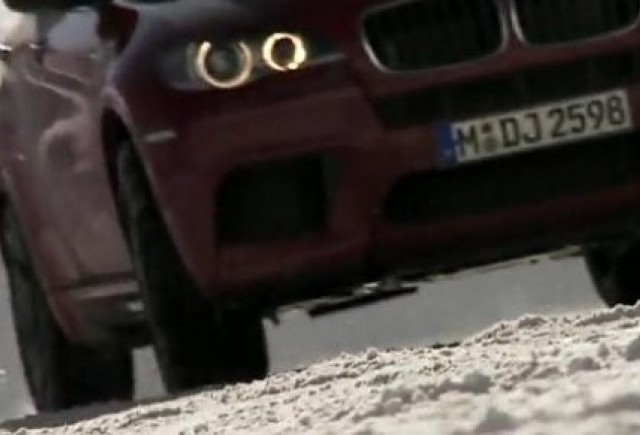 VIDEO: Drift-uri pe zapada cu BMW X5 M si X6 M