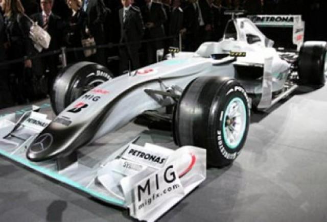 Mercedes GP si-a prezentat monopostul