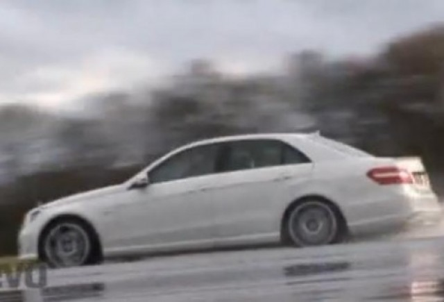 VIDEO: Test-drive cu Mercedes E63 AMG