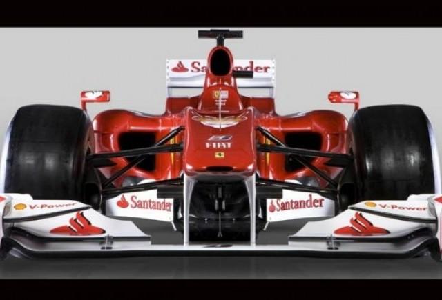 Iata noua masina Ferrari pentru Formula 1!