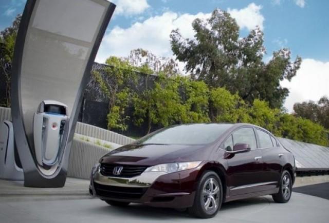 Honda deschide o statie solara de producere a hidrogenului