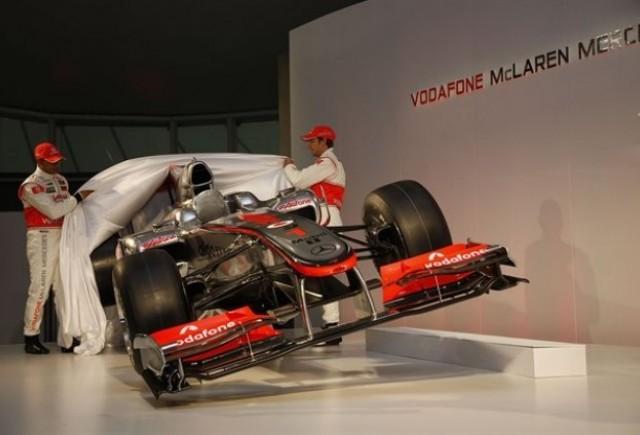 McLaren a prezentat monopostul de Formula 1 din 2010