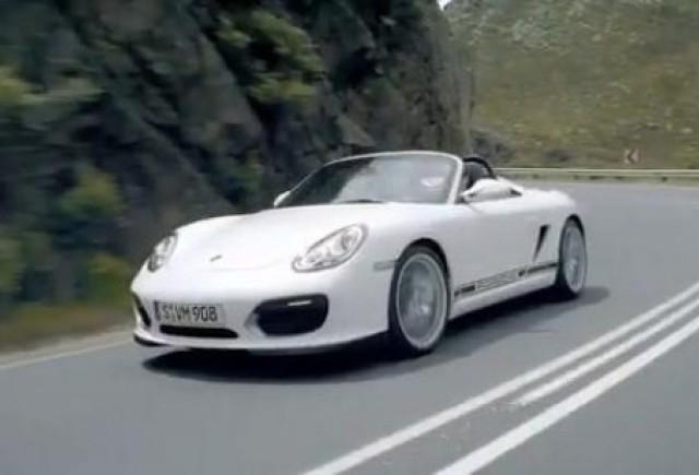 VIDEO: Un nou clip cu Porsche Boxster Spyder