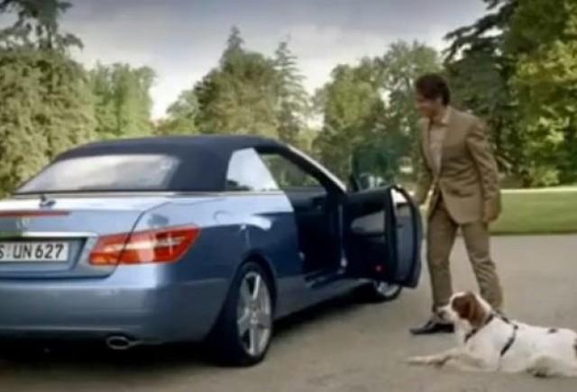 VIDEO: Reclama haioasa la Mercedes E-Klasse Cabrio