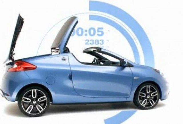 VIDEO: Primul clip cu noul Renault Wind
