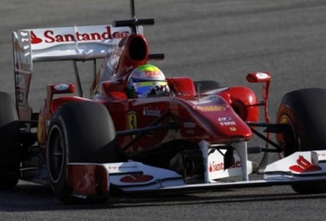 Felipe Massa a fost primul la testele din Valencia