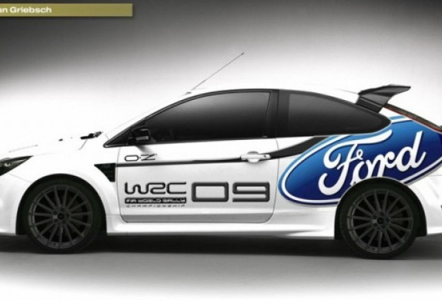 Ford lanseaza modelul Ford Focus RS WRC Edition