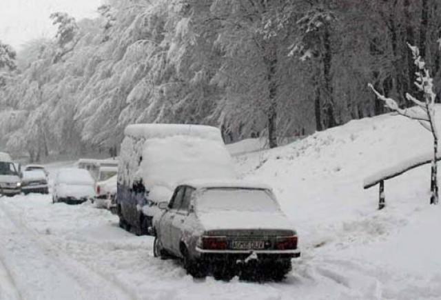 Soselele din Romania inchise din cauza zapezii