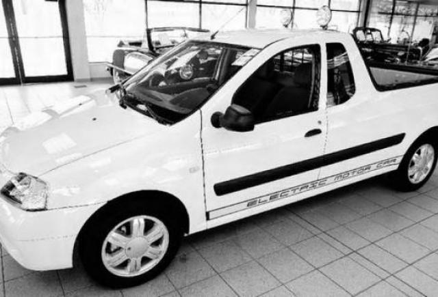 Dacia Logan Pick-up electric: produs in Romania, vandut in SUA