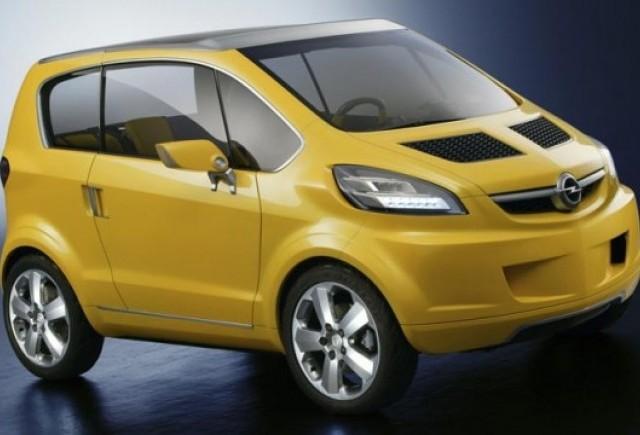 Opel Allegra, concept mini pregatit pentru Paris