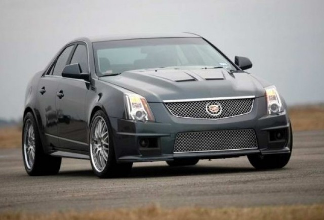 VIDEO: Cadillac CTS-V Hennessey