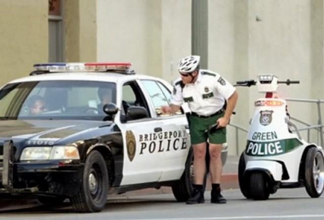 VIDEO: Audi Green Police