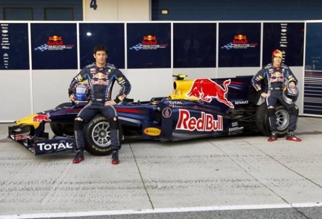 Noul monopost Red Bull de Formula 1