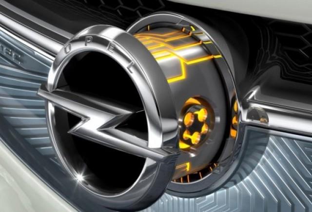 Opel prezinta la Geneva un nou concept hibrid