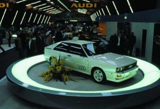 Audi Quattro - 30 de ani de performanta