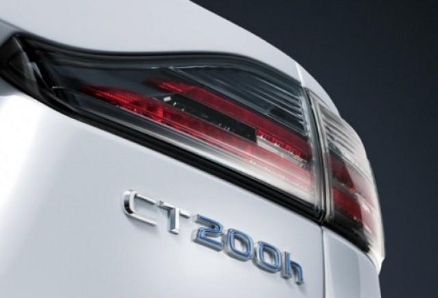 Teaser Lexus CT-200h