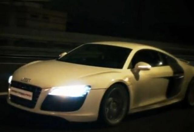 VIDEO: Audi R8 V10 vs. Audi RS6 cu 750 CP