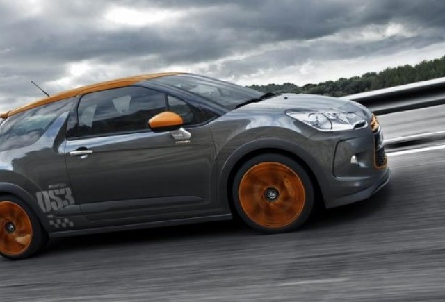 Noul Citroen DS3 Racing!