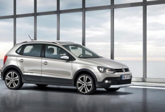Iata noul VW Crosspolo!