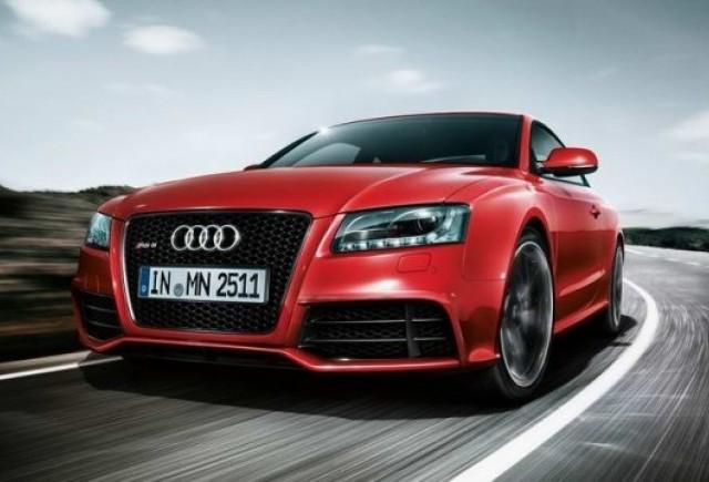 Primele imagini cu Audi RS5