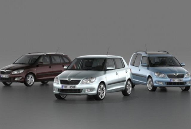 OFICIAL: Skoda Fabia si Roomster facelift