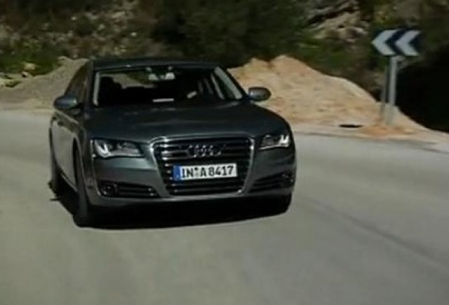 VIDEO: Test cu Audi A8