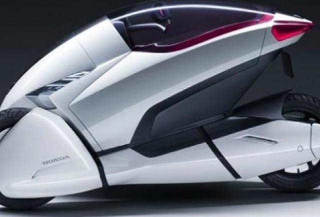 Honda 3R-C, concept electric pe 3 roti la Geneva