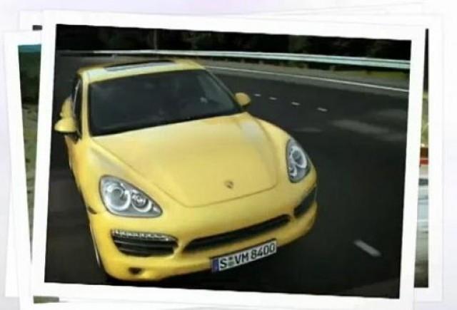 VIDEO: Primul clip cu noul Porsche Cayenne
