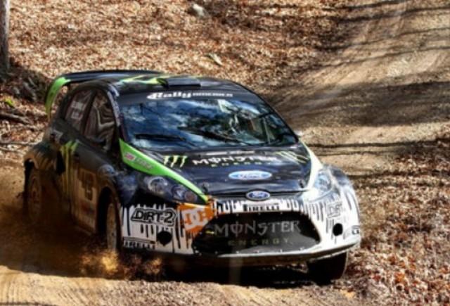 VIDEO: Ken Block se pregateste pentru 100 Acre Woods Rally