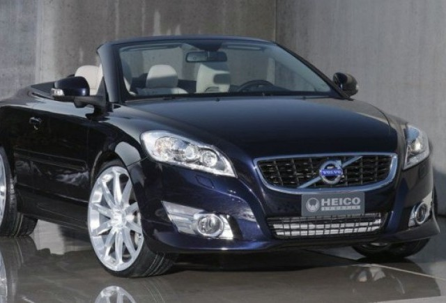 VIDEO: Volvo C70 decapotabil tunat de Heico