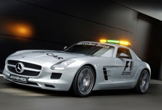Mercedes SLS AMG va fi noul Safety Car din Formula 1