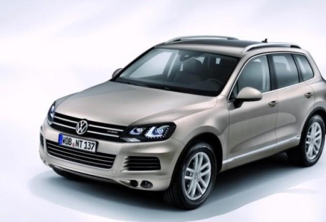 Volkswagen Touareg hibrid este cu 23.000 de euro mai scump decat modelul V6 diesel