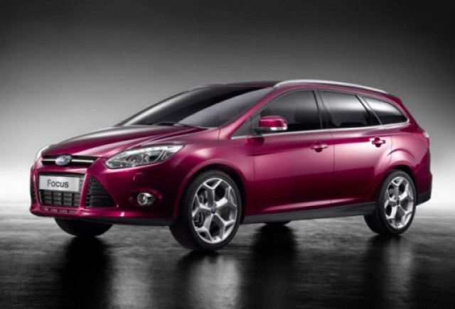 Iata noul Ford Focus break!