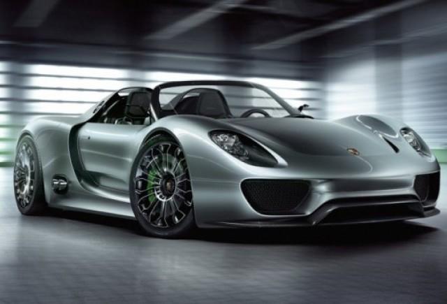 Geneva LIVE: Porsche 918 Spyder