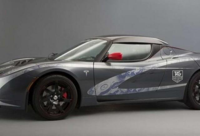 Geneva 2010: Tag Heuer Tesla Roadster