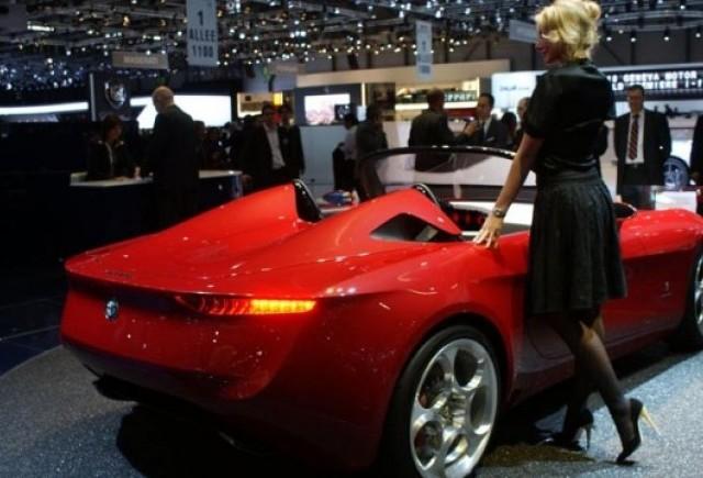 Geneva LIVE: Pininfarina 2uettottanta, concept pentru Alfa Romeo 159