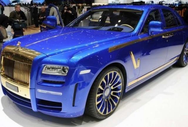 Geneva LIVE: Mansory Rolls-Royce Ghost