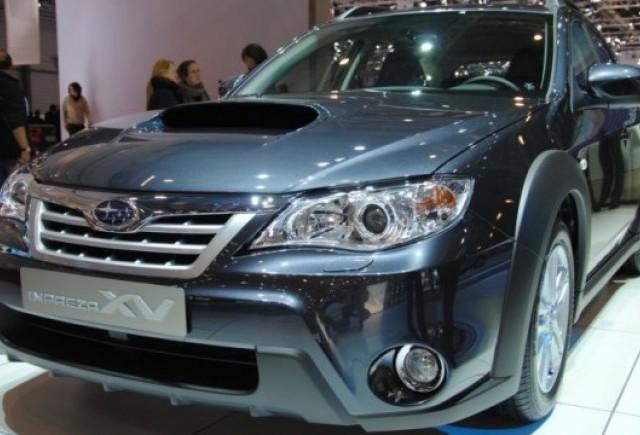 Geneva LIVE: Subaru Impreza XV