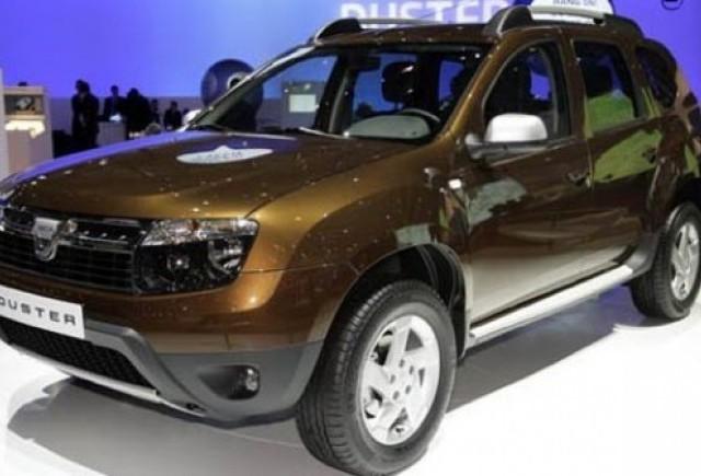 Dacia intra pe piata britanica in 2012