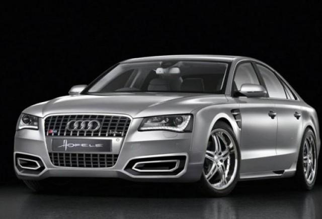Audi A8, tunat de Hofele