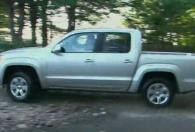 VIDEO: Volkswagen Amarok se prezinta
