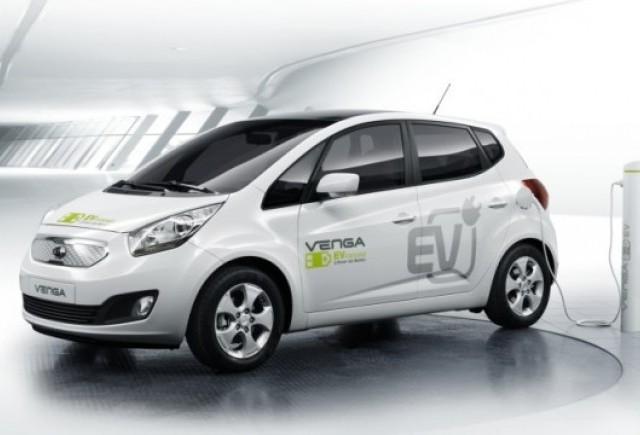 Geneva 2010: conceptul Kia Venga EV